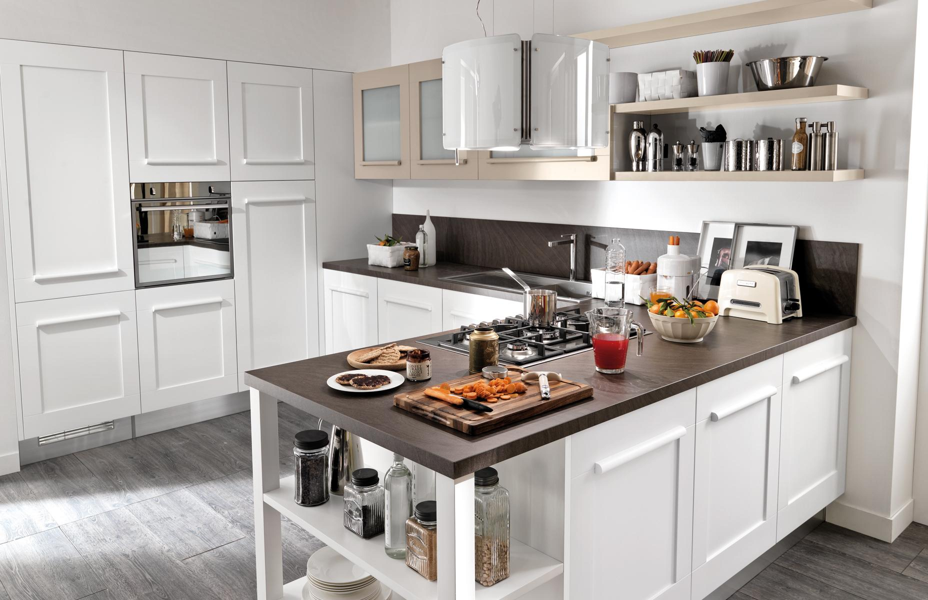 Cucine simple cucine with cucine cool with cucine - Cucina lube agnese bianco camelia ...