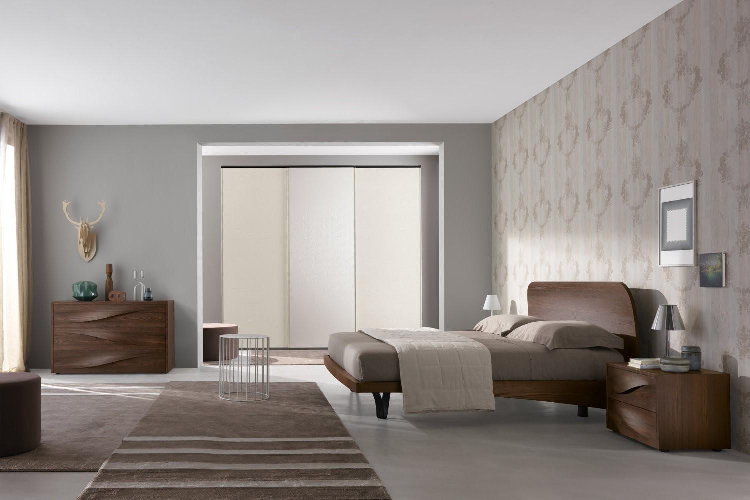 Camera da letto matrimoniale fontana 02 1 olmo scuro - Camera da letto del papa ...