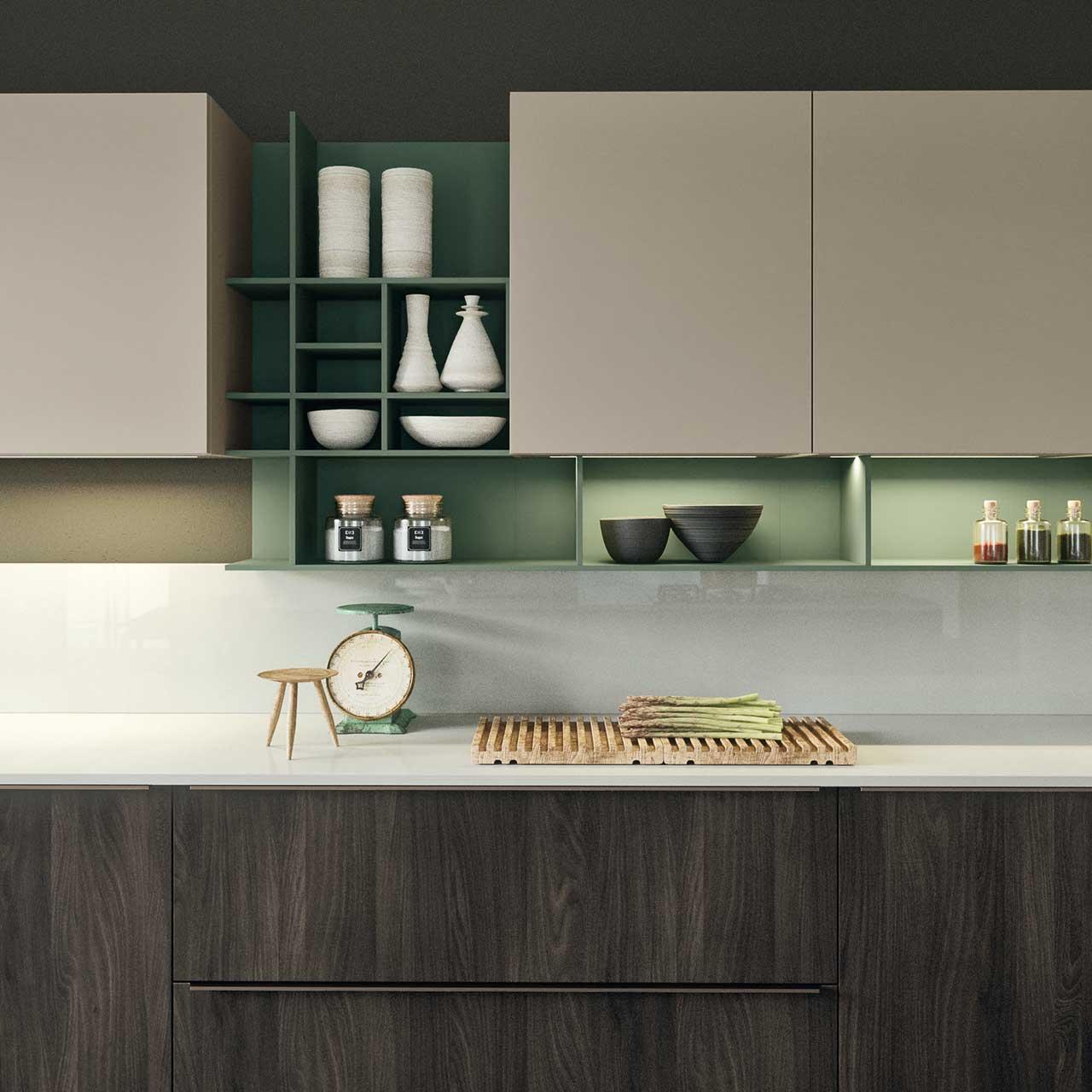 Cucina linear 08 antares particolare zona giorno - Cucina particolare ...