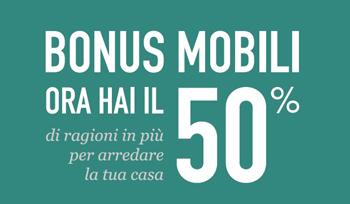 Bonus mobili arredamenti papa a comerio va for Bonus arredamenti