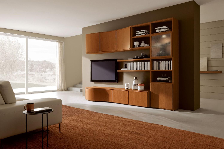 mobili per soggiorno in legno. mobile soggiorno componibile in ... - Soggiorno Ad Angolo Roma