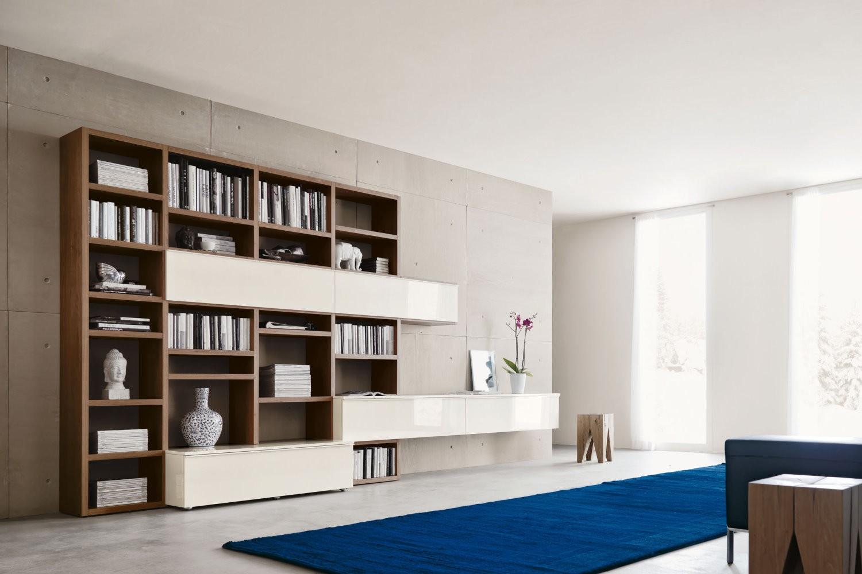 302 libreria arredamenti papa a comerio va - Libreria a parete ...