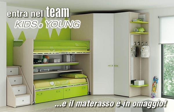 Camerette Design Outlet. Camerette Moretti Outlet With Camerette ...
