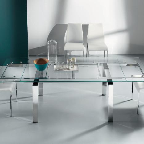 tavolo ghost trasparente