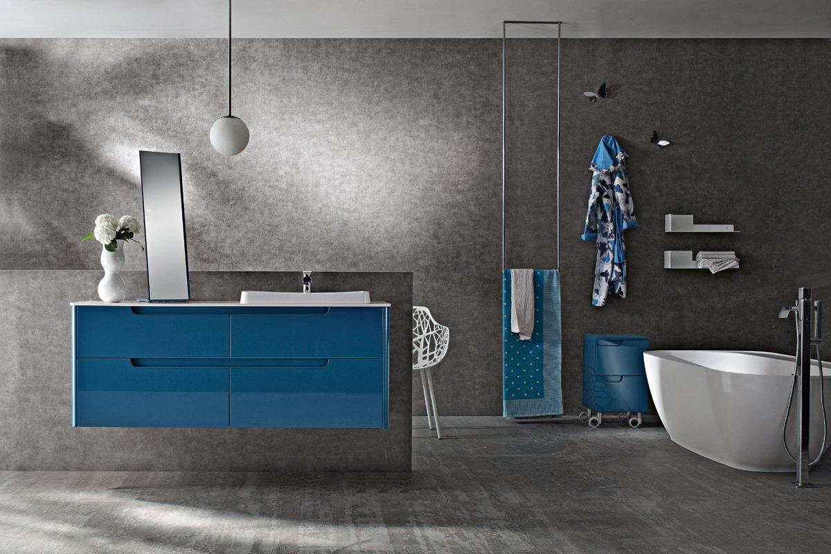 Ryo-mobile bagno-cerasa blu - Arredamenti Papa a Comerio (Va)