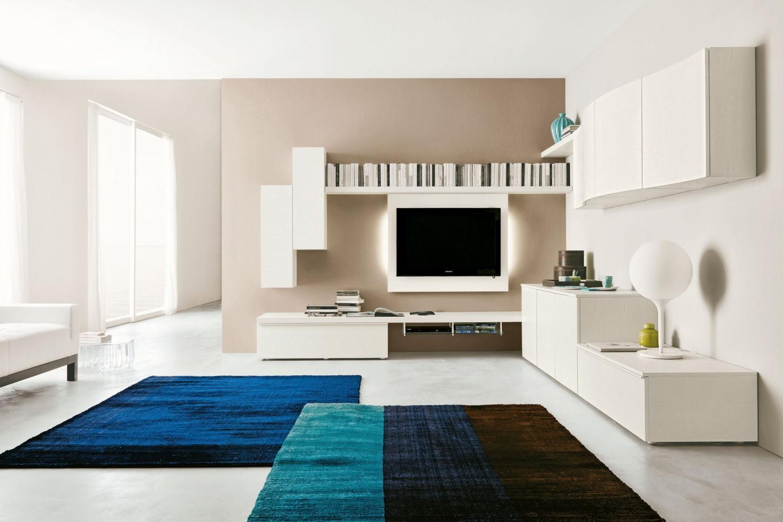 Angolo Tv Moderno parete-attrezzata-angolo-547-soggiorno-napol - arredamenti